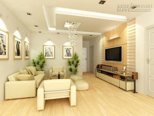 Thiết kế nội thất phòng khách đẹp có diện tích nhỏ, 60680, Sơn Đuổi Muỗi Antimos 0909996842, Blog MuaBanNhanh, 16/12/2015 14:38:04