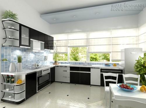 Thiết kế không gian nhà bếp đẹp, 60935, Nhà Đẹp, Blog MuaBanNhanh, 18/12/2015 16:08:25