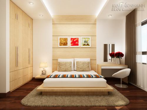 Phòng ngủ đẹp đơn giản, 61132, Nhà Đẹp, Blog MuaBanNhanh, 21/12/2015 10:23:23