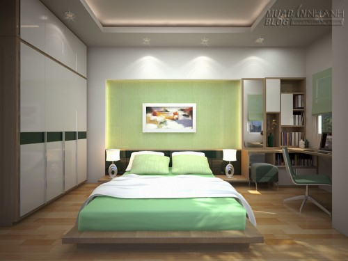 Trang trí phòng ngủ đẹp, 61150, Nhà Đẹp, Blog MuaBanNhanh, 21/12/2015 11:48:27