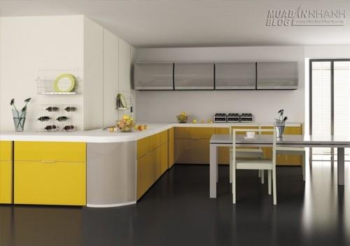 Không gian bếp đẹp với tủ bếp nhôm kính, 61467, Nhà Đẹp, Blog MuaBanNhanh, 24/12/2015 12:10:04