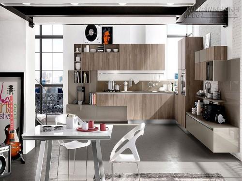 Thiết kế phòng bếp đẹp với tủ bếp gỗ tự nhiên, 61487, Nhà Đẹp, Blog MuaBanNhanh, 24/12/2015 15:10:40