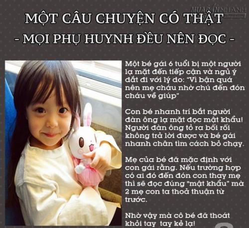 Dạy con những mẹo này mẹ sẽ không còn lo con bị bắt cóc, 64638, Nguyễn Thu Hương , Blog MuaBanNhanh, 31/01/2016 14:22:33