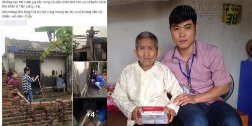 Tình người qua ảnh sửa nhà cho cụ bà neo đơn tại Hải Phòng, 69726, Nguyễn Thu Hương , Blog MuaBanNhanh, 20/04/2016 15:39:42