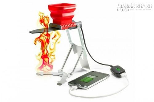 Công nghệ mới cho phép sạc đầy điện thoại chỉ cần một ngọn lửa, 70740, Nguyễn Thu Hương , Blog MuaBanNhanh, 21/11/2017 10:41:44