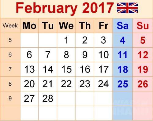 Tháng 2 năm 2017 là tháng đặc biệt nhất trong hơn 820 năm qua, 73160, Lavender, , 06/02/2017 12:32:11