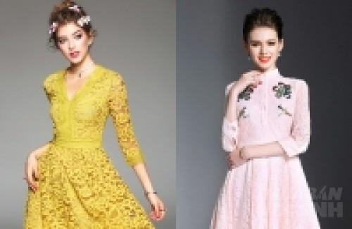 Những mẫu váy ren thanh lịch ăn gian tuổi cho quý cô công sở U40, 74575, Lavender, Blog MuaBanNhanh, 28/03/2017 10:53:16