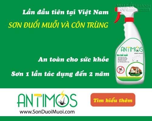 Đuổi muỗi an toàn, 57188, Sơn Đuổi Muỗi Antimos 0909996842, Blog MuaBanNhanh, 23/11/2015 15:39:34