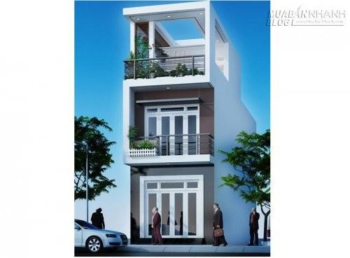 Mẫu nhà ống đẹp 2 tầng 1 tum, 61307, Nhà Đẹp, Blog MuaBanNhanh, 22/12/2015 14:44:21
