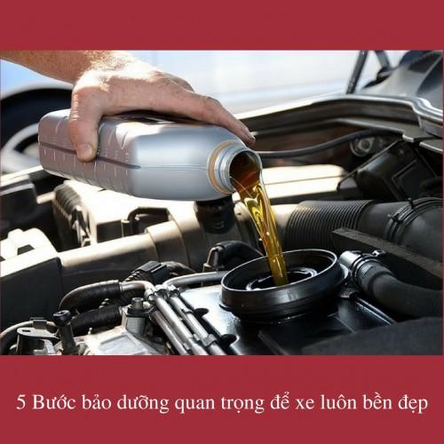 5 Bước bảo dưỡng quan trọng để xe luôn bền đẹp, 76014, Lê Thanh Hòa, Blog MuaBanNhanh, 07/12/2017 15:28:35