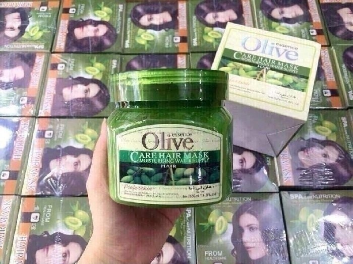 Kem hấp dầu ủ tóc Olive