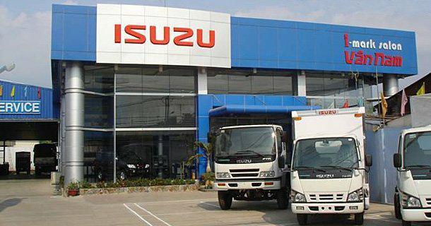 Xe tải Isuzu Euro 4 với các loại tải trọng khác nhau
