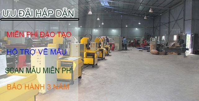 Tìm hiểu đơn vị bán máy cnc khắc gỗ tốt nhất tại miền Trung