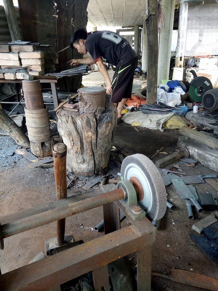 Cơ sở sản xuất dao Phúc Sen Cao Bằng