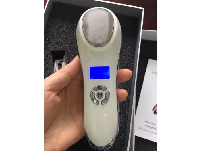 Sử dụng máy massage chăm sóc da nóng lạnh KNL-15 sao cho đúng cách nhất