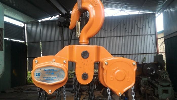 Giá pa lăng xích kéo tay 1 tấn tại TPHCM