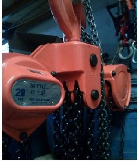 Giá pa lăng xích kéo tay 1 tấn tại TPHCM(3)