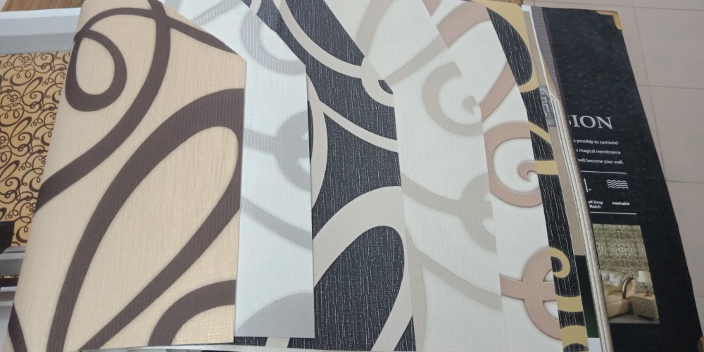 Vải dán tường dán được trên những bề mặt nào?