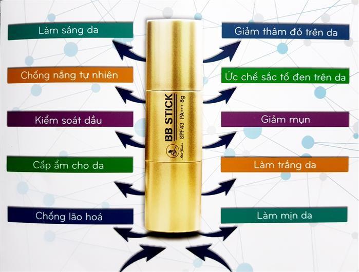 BB Stick Mini Garden: thỏi kem nền siêu tiện lợi giúp make up thần tốc