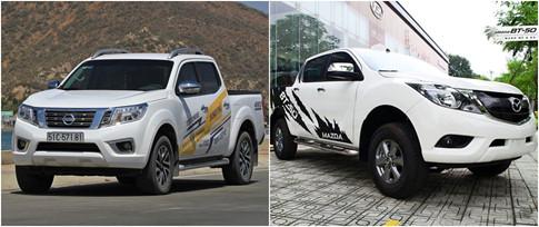 Thiết kế của Nissan Navara cơ bắp và có nhiều mảng khối