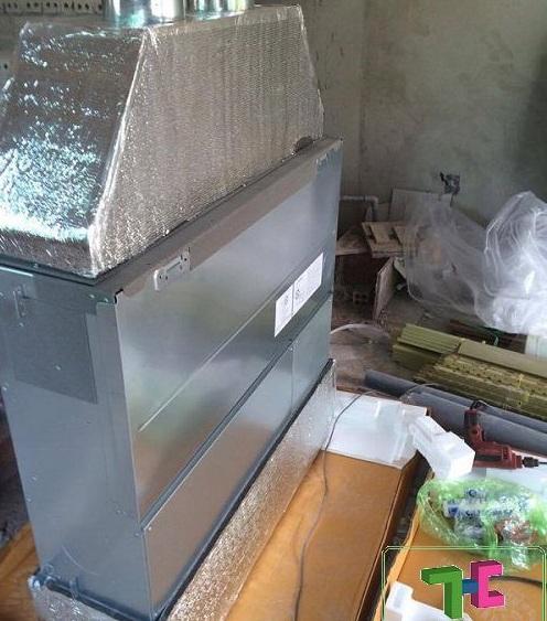 máy lạnh âm trần, lắp máy lạnh giấu trần, máy lạnh giấu trần ống gió