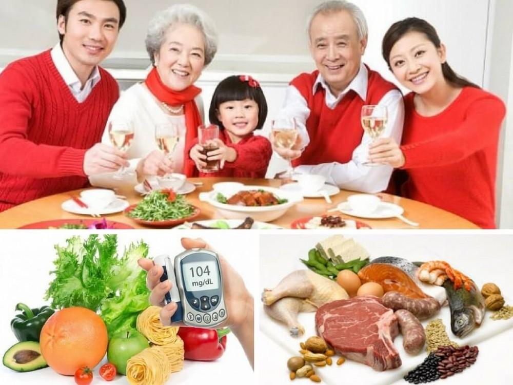 Ngày Tết, người bệnh tiểu đường nên ăn gì?
