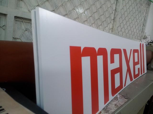 Một thành phẩm in PP bồi formex với tấm formex dày 10mm (10ly)
