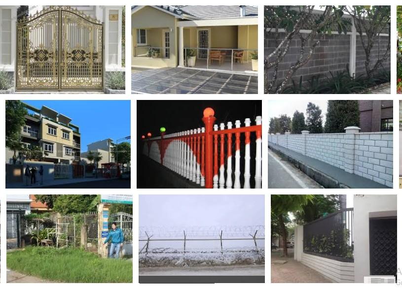 Xây chung tường rào với nhà hàng xóm có nên không?