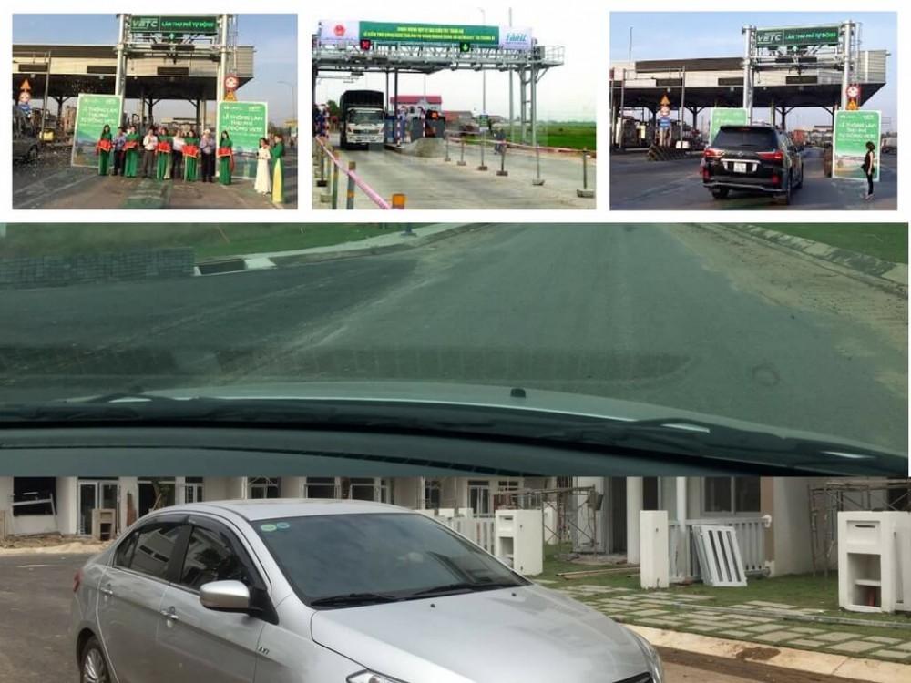 Tem xe thu phí không dừng được dán lúc nào?