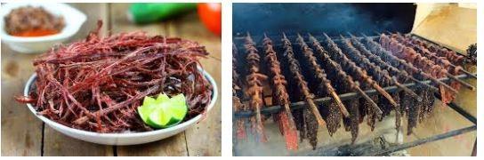 thịt trâu gác bếp đặc sản Sa Pa