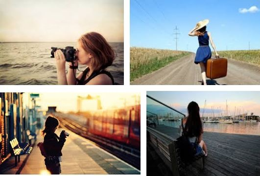 nữ giới đi du lịch một mình