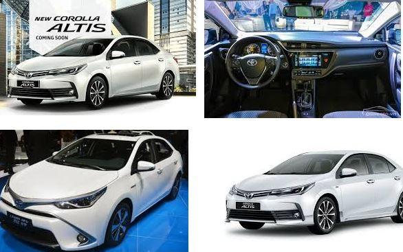 Những điểm mới nổi bật của Toyota Altis 2018