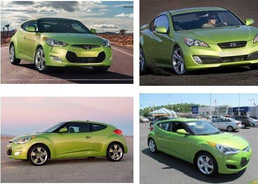 Người mệnh Hỏa nên mua xe ô tô màu xanh lá cây
