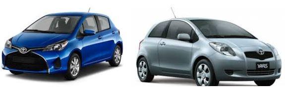 Toyota Yaris giá từ 580 triệu – 630 triệu