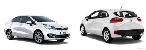 Kia Rio giá từ 480 đến 590 triệu