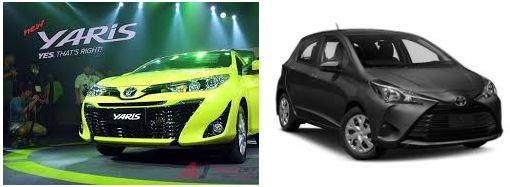 """Toyota Yaris 2018 có thiết kế 'Keen Look' giống như mẫu xe """"anh em"""" 4 cửa lớn hơn là Corolla Altis"""