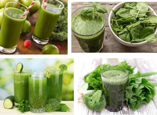 ước ép rau còn có khả năng giải phóng các độc tố mạnh mẽ.