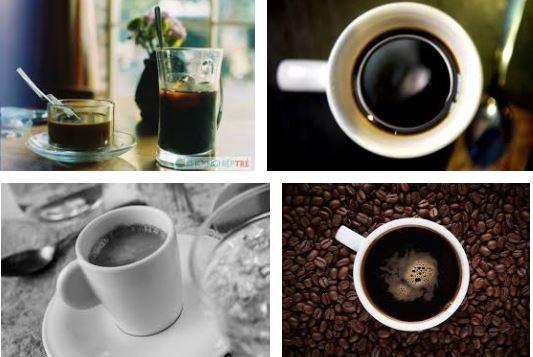 à phê đen chứa rất nhiều chất chống oxy hóa gốc tự do