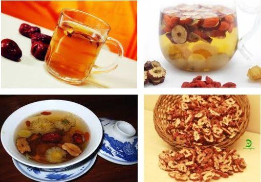 Dâu tây với táo đỏ kết hợp cho bạn một loại trà thượng hạng