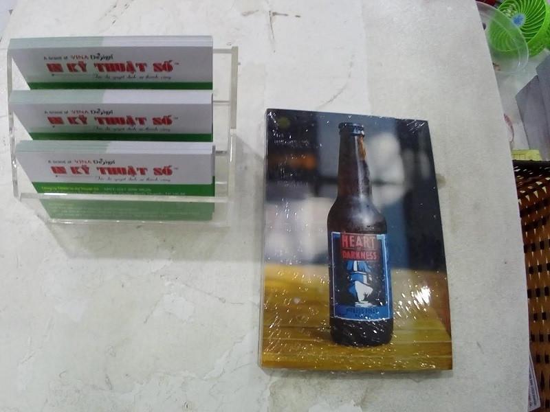 Mẫu tờ rơi quán beer 2