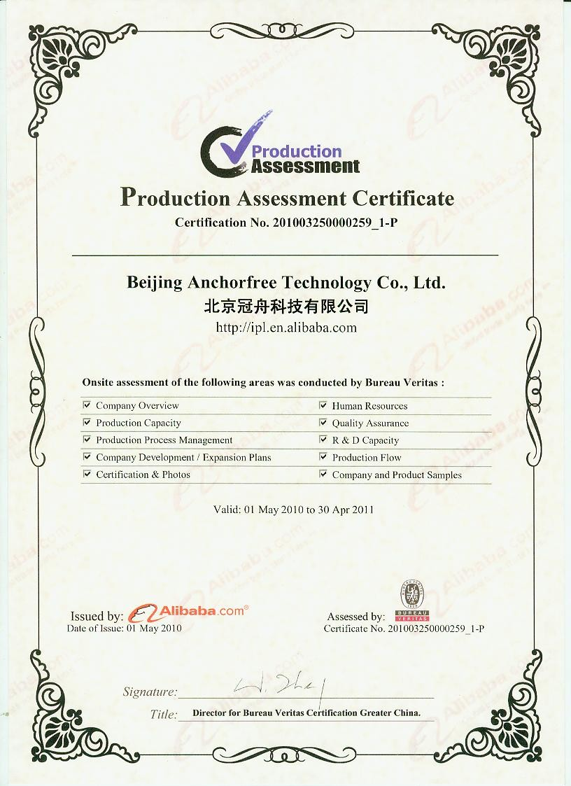 Radium đạt CE (tiêu chuẩn chất lượng Châu Âu) năm 2009