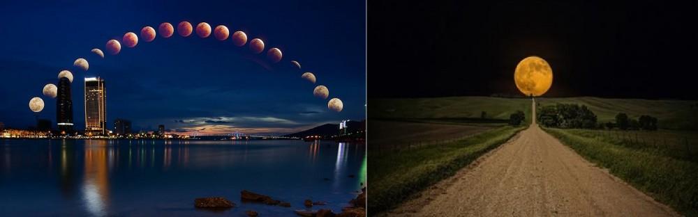 chụp trăng đẹp