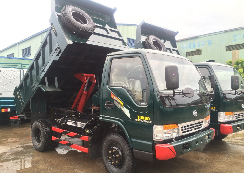 Thông số xe tải ben Chiến Thắng 1.25 tấn (1.5 khối) 1 cầu