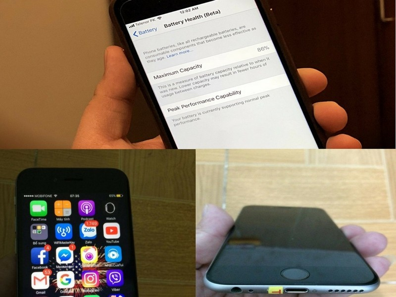 Cập nhật tính năng đo độ chai pin trên IPhone chỉ là trò móc ví người dùng của Apple