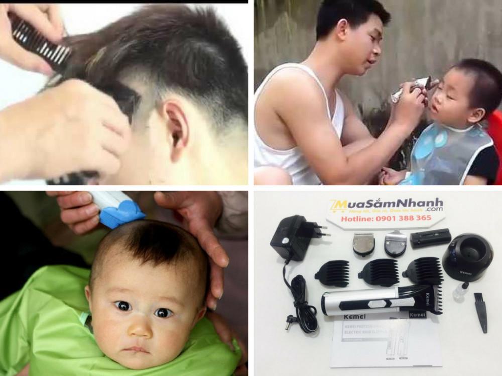 Có nên mua tông đơ cắt tóc cho bé?