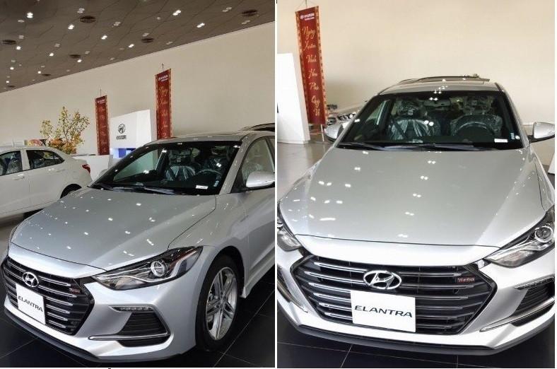 So sánh về ngoại thất thiết kếFord Focus Sport và Hyundai Elantra Sport 2018