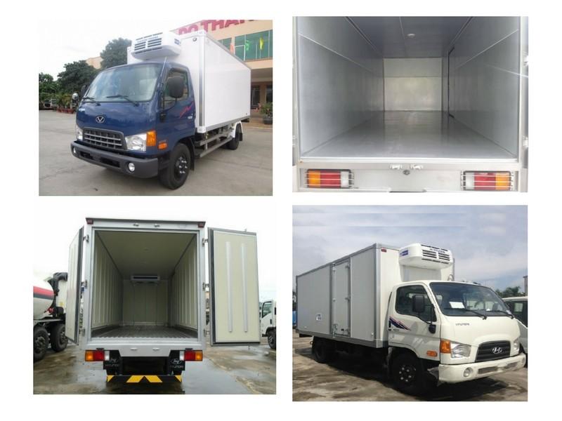 Giá xe tải Hyundai IZ49 thùng đông lạnh