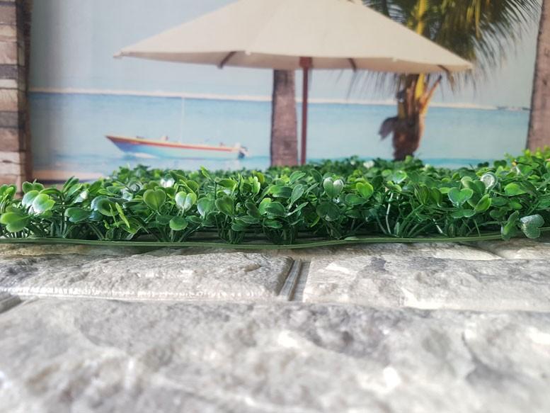 Tại sao nên chọn cỏ nhựa trang trí tường?