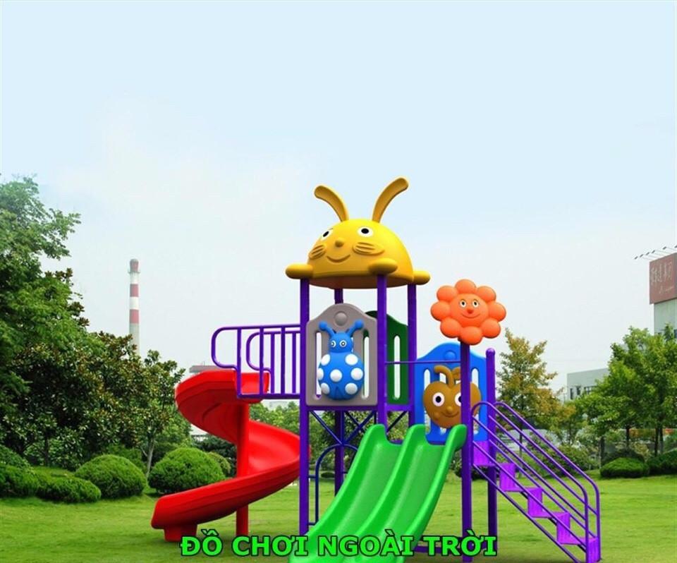 Một số thiết bị vui chơi ngoài trời dành cho trẻ