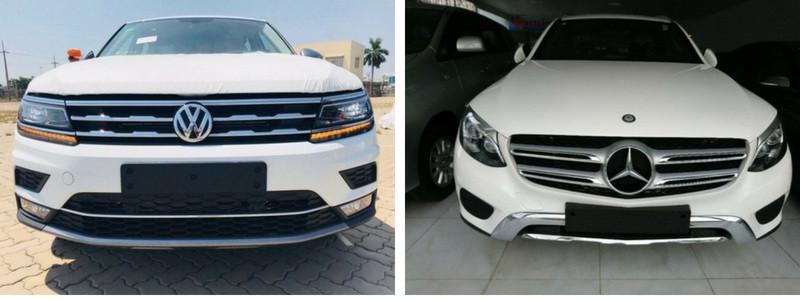So sánh xe Volkswagen Tiguan Allspace 2018 và Mercedes-Benz GLC